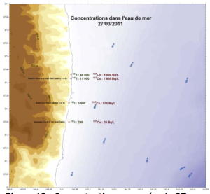図10 3月27に測定された濃度